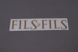 Pochette FILS 33mm