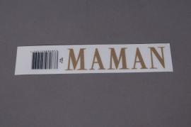 Pochette MAMAN 33mm