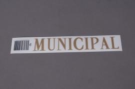 Pochette MUNICIPAL 33mm