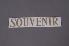 Pochette SOUVENIR 33mm