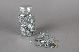 Pot 1100 diamants argent 15mm x 7mm