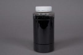 Pot 400g paillettes noires