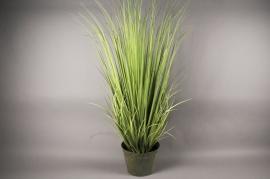 x002dg Pot d'herbes artificielles vert H135cm