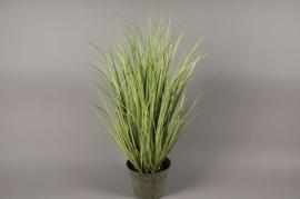 x001dg Pot d'herbes artificielles vert H90cm