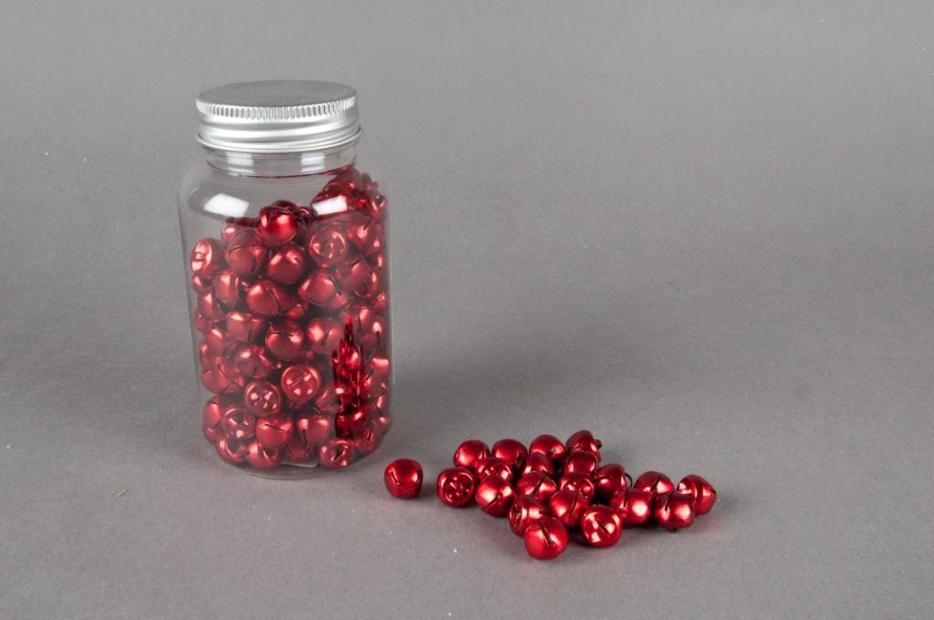 Pot de 150 grelots rouge D 1.2cm