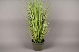 x003dg Pot de graminées artificielles vert H100cm