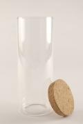 A148RX Pot en verre D6cm H15cm