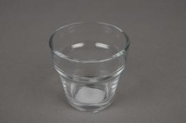 A001L2 Pot en verre D7cm H6.5cm