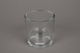 A037I0 Pot glass thick D10cm H10cm