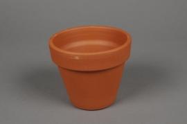 A039KF Pot horticole en terre cuite D11cm H9.7cm