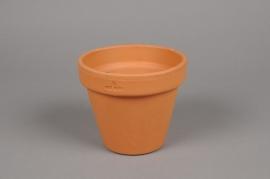 A040KF Pot horticole en terre cuite D13cm H11cm