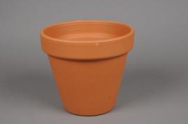 A027KF Pot horticole en terre cuite D19cm H17cm