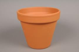 A028KF Pot horticole en terre cuite D21cm H19cm