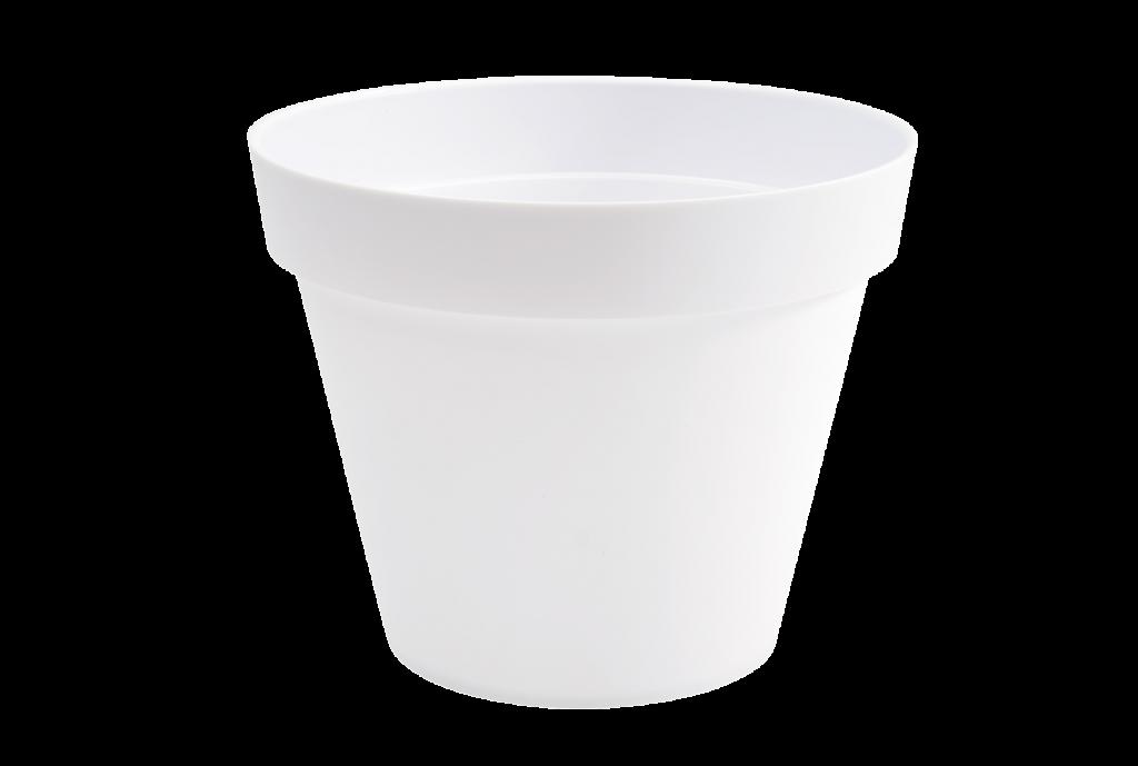 A115A6 Pot toscane blanc D80cm H68cm