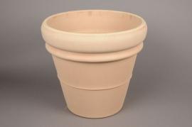 A013KF Pot toscane en terre cuite D40cm H38cm