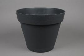 A067A6 Pot toscane gris D60cm H47cm