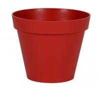 A102A6 Pot toscane rouge rubis D40cm H32cm