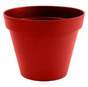 A105A6 Pot toscane rouge rubis D80cm H68cm