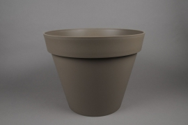 A005A6 Pot toscane taupe D100cm H80cm