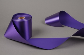 A023AI Purple bereavement ribbon 100mm x 50m