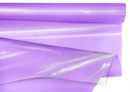 A075QX Purple roll of cellophane tube 80cmx50m