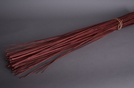 pv09sx Debarked wicker chocolate H180cm