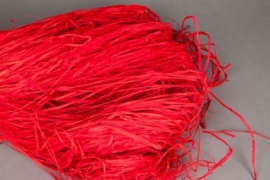 n821ab Raphia rouge vif 300g