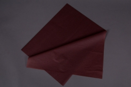A634QX Ream of 240 tissue paper sheets chocolate brown 50x75cm