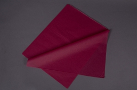A138QX Ream of 480 tissue paper sheets burgundy red 50x75cm