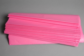 A307IX Ream of 480 tissue paper sheets pink 50x75cm