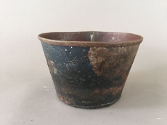 A006A0 Recycled steel bowl D15cm H10cm