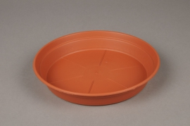 A123H7 Red plastic saucer D20cm