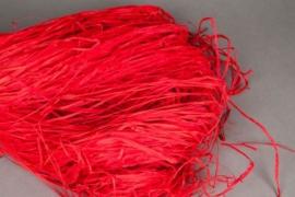 n821ab Red raffia 300g