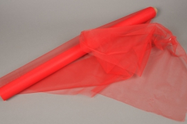A015GM Red tulle roll 75cm x 10m