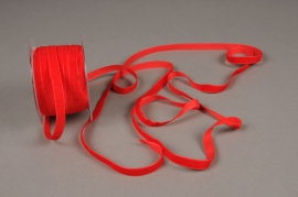 A455EC Red velvet ribbon 10mm x 20m