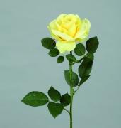 x195fp Rose georgia artificielle jaune H90cm