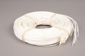 x035ab Rotin rond blanc 250gr