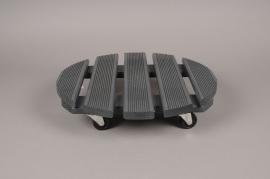 A050SF Roul'bac en bois noir D40cm
