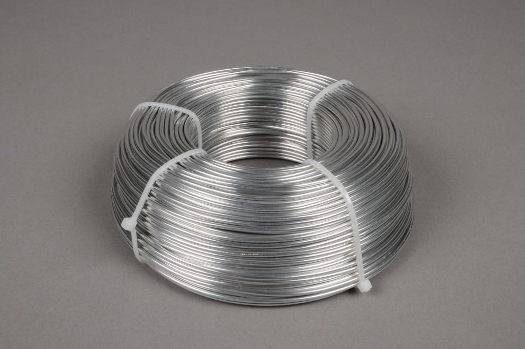 A063MG Rouleau de fil aluminium 2mm 1kg 118m
