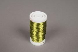 A014MG Rouleau de fil de fer citron D0.5mm L50m