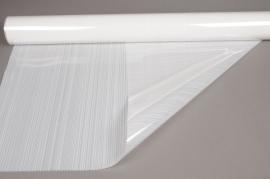 A717QX Rouleau de gaine cellophane blanc 80cmx50m