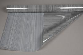 A716QX Rouleau de gaine cellophane gris 80cmx50m