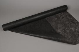 A496QX Rouleau de non tissé noir 75cm x 20m