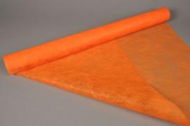 A491QX Rouleau de non tissé orange 75cm x 20m
