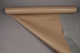 B100QXRouleau de papier kraft gris / taupe 0,8x50m