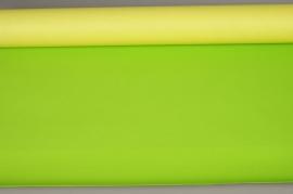 A362QX Rouleau de papier kraft jaune / vert pomme 80cm x 50m