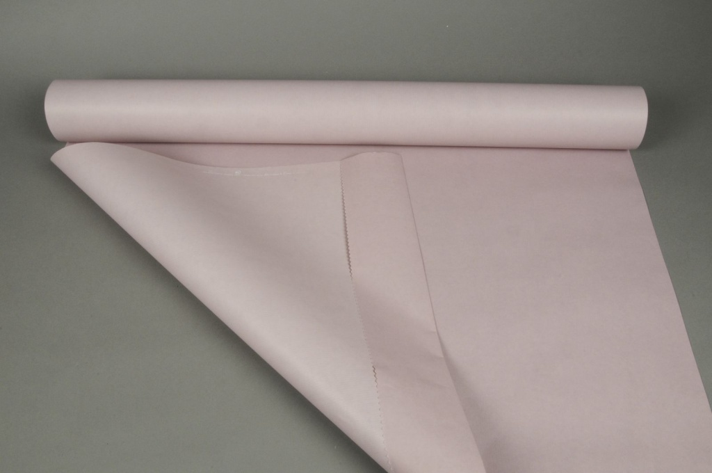 A047QX Rouleau de papier kraft rose / pourpre 0,8x50m
