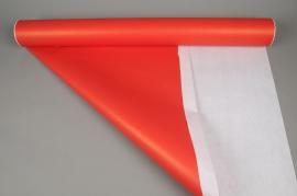 A285QX Rouleau de papier kraft rouge blanc 0,80x50m