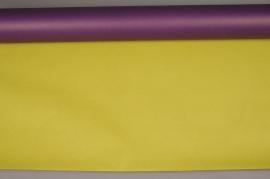 A643R7 Rouleau de papier kraft vert / violet 80cm x 50m