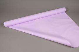 A026BD Rouleau de papier mat perle lilas 80cm x 40m